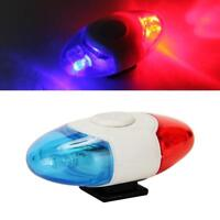 Waterproof Bike Bicycle Cycling Mini Rear Light Warning Tail Police Lamp Safety