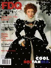 Fashion Doll Quarterly FDQ Magazine Summer 2009 Stacey Twiggy Dr Who Daisy QEI