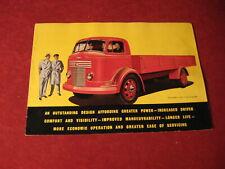 1950's Commer Semi Pickup Truck rig Sales Brochure Booklet Catalog Book Old