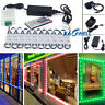 US 10~100FT LED Light Closet Kitchen Under Cabinet Counter Lamp Kit Super Bright