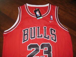 Men's Adult Large Michael Jordan Jersey - Nike Classics Jersey #23 Chicago Bulls