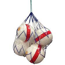 Football Netball Basketball Rugbyball Mesh Carrybag Net 10 ball white