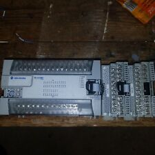 Allen-Bradley 1762-L40BXBR PLC with 1762-OW16 AND 1762-IQ16