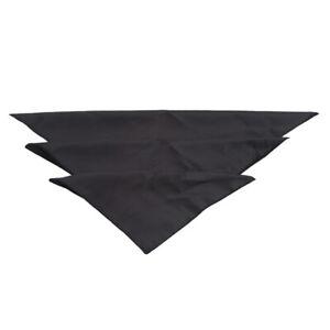 Plain Table Napkins Cloth Square Satin Fabric Napkin Pocket Handkerchief LC