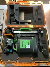 Johnson Self Leveling Rotary Laser Withgreenbrite Technology 40 6543 Kit New Open