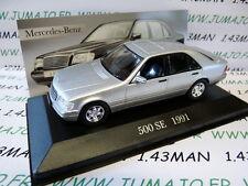 voiture 1/43 ixo altaya MERCEDES : 500 SE 1991