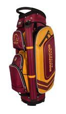 360074 BRISBANE BRONCOS NRL TEAM LOGO DELUXE GOLF CLUB CART BAG