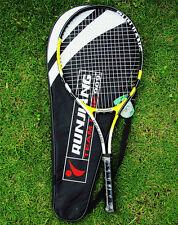 New 1X Yellow Top Quality high-strength Aluminium Alloy Tennis Racquet 4 3/8 Bag