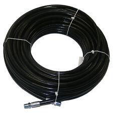 "1/4"" x 100' Flex Sewer Hose (4400 PSI) - 4.5 & 8 Fixed & Rotating Nozzles"