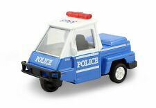 "Metro Police Mini Car 4"" New York City traffic ticket patrol vehicle Blue #167"