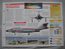 Aircraft of the World Card 156 , Group 4 - McDonnell F-101B/F VOODOO