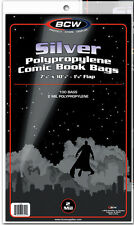 25 BCW Silver Comic Book Bags - Sleeves