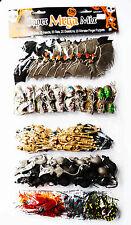 Halloween Super Mega Mix Bats Rats Value Pack Skulls 100 Piece Insects Bugs