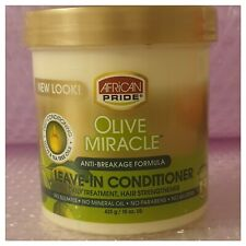 African Pride Olive Miracle Anti-Breakage Leave-In Conditioner 425g15oz