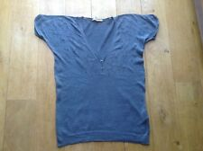 "t-shirt femme en lin et cotton ""SANDRO"" taille 1 neuf"