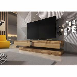 """Metro Lane Ambleside Sideboard TV-Lowboard Unterschrank Kommode bis 55"""" Eiche"""