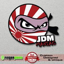 JDM MANIAC sticker decal vinyl drift japan low illest toyota honda mazda nissan