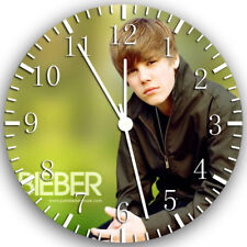 Justin Bieber Frameless Borderless Wall Clock Nice For Gifts or Decor X11