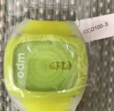 o.d.m. DD100 Spin Analog Yellow Watch. Brand New with tags in Rare Color!
