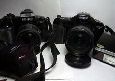 Fotocamere analogiche reflex a focus auto e manuale 35 mm