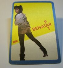 Pat Benatar Backstage Pass Original 1982 Get Nervous Rock Music Gift Sexy Photo