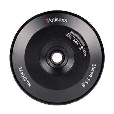 7artisans 35mm F5.6 Full Frame Pancake Lens Canon EOS R RP R5 R6 camera