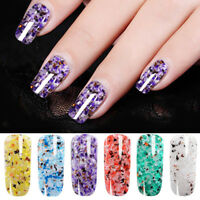 Eg _ Marmo Paillettes Effetto UV LED Nail Art Manicure Duraturo Smalto Gel