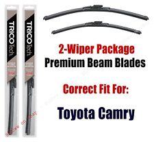 Wipers 2-Pack Premium Beam Wiper Blades fits 2018+ Toyota Camry - 19260/200