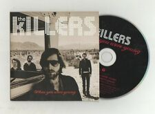 killers- when you were young  cardsleeve cd    new