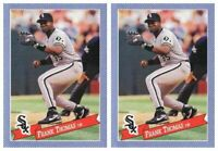 (2) 1993 Hostess Baseball #13 Frank Thomas Baseball Card Lot Chicago White Sox