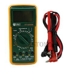 DT9205M Digital Multimeter Voltmeter Ammeter Ohmmeter Capacitance Tester LCD