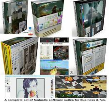 Photo Image PC Games 3D Animation office word processor bundle 4  MS windows CD