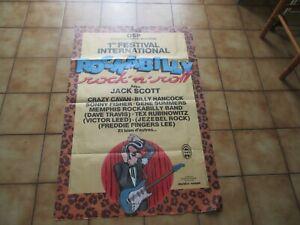 poster, crazy cavan , rockabilly , margerin, rock n roll