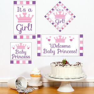 Princess Baby Shower Wall Decor; DIY Wall Cutouts; Princess Theme decor
