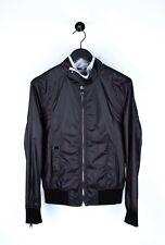Original Dolce&Gabbana Herren Licht Schwarz Jacke IN Größe 46(S/M)