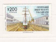 Cile 1996 Centenario varo Talcahuano 1366 MHN