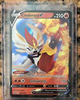 Pokemon TCG Card | Cinderace V Ultra Rare Rebel Clash Authentic Mint Card 🔥🔥