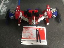 Transformers Energon Wing Saber 100% Complete w/ Manual