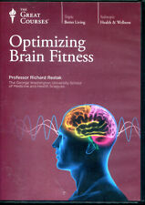 The Great Courses - Optimizing Brain Fitness, 2 dvd set, 12 lectures