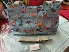 Cath Kidston Day Bag Dogs Soft Blue Colour New with Tag