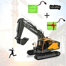 REALISTIC RC Excavator Construction Tractor 17CH Remote control + Extra Battery