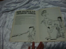 HOW TO PICK UP GIRLS IVORY TOWER RARE COMEDY HUMOUR By IRA ALTERMAN S/C 1982