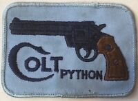 COLT PYTHON Sew On Patch~Rare Patch~New, Never Used~Colt Firearms