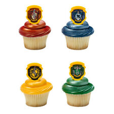 Cake Toppers Harry Potter Cupcake Rings House Crests