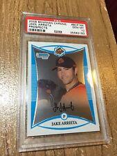 2008 Bowman Chrome Jake Arrieta #bcp164 Prospects RC Baseball PSA 10 Gem Mint