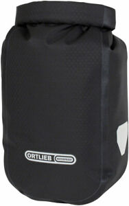 NEW Ortlieb Fork Pack with Bracket - 3.2L Roll-Top Black
