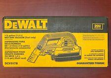 DeWALT DCV517B 20-Volt 1/2-Gallon Wet/Dry Portable Cordless Vacuum - Bare Tool