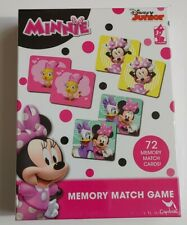 Disney Junior Minnie Mouse Memory Match Game Minnie Daisy New Sealed