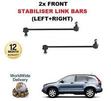 FOR HONDA CRV 2.0 2.2 CDTi 2007-2010 LEFT+ RIGHT 2 FRONT STABILISER LINK BARS