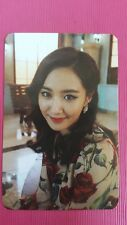 SNSD YURI Official PHOTOCARD 5th YOU THINK Girl's Generation Photo Card 유리
